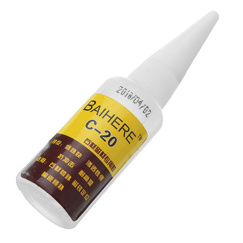 BAIHERE C-20 Crack Repair Adhesive Environmental Friendly Strong Glue for Stone Ceremic Magnetic