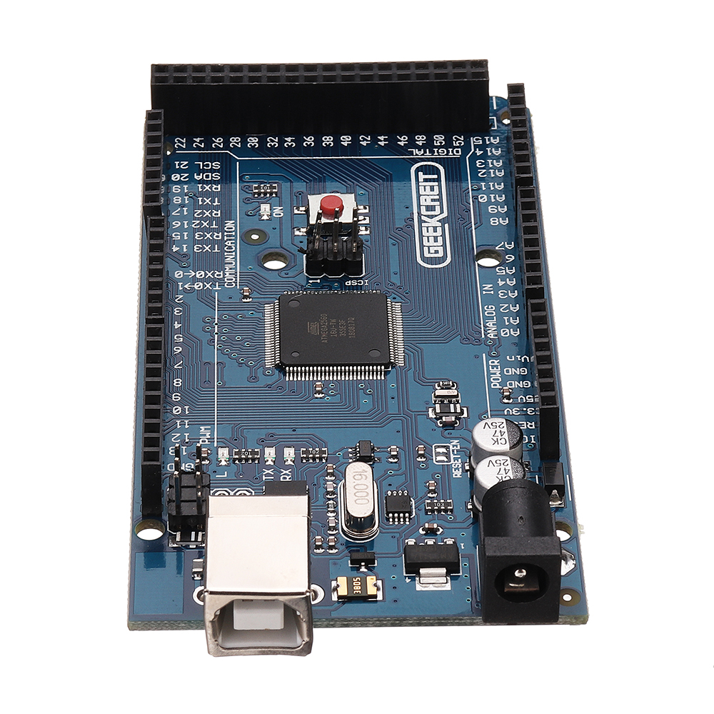Geekcreit® MEGA 2560 R3 ATmega2560 MEGA2560 Development Board With USB Cable For Arduino