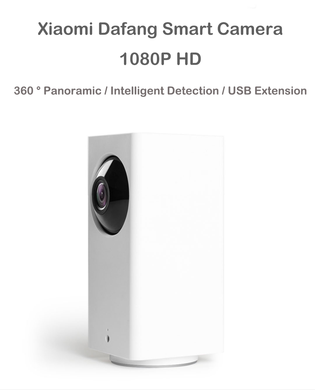 Original Xiaomi MIjia Dafang Smart Home 120 Degree 1080p HD Intelligent Security WIFI IP Camera Night Vision IR-cut Motion Detection Monitor