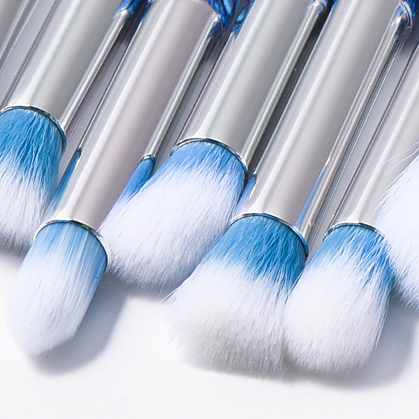10Pcs Soft Makeup Brushes Set