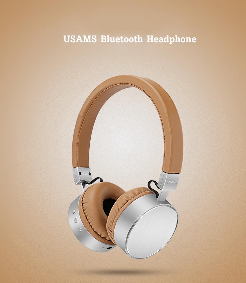 Usams Lh001 Casque Stéréo Haute Fréquence Pour Microphone Casque