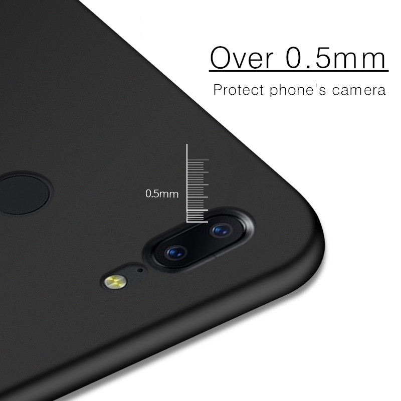 Ultra Thin Silky PC Hard Protective Back Case For OnePlus 5T