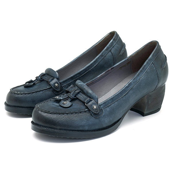 SOCOFY Leather Handmade Casual Pumps