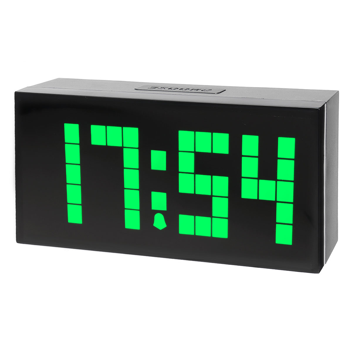 Loskii HC-301 Electronic Creative LED Dot Design Digit Cube Thermometer Date Snooze Function Alarm Clock Lansing Prices for goods
