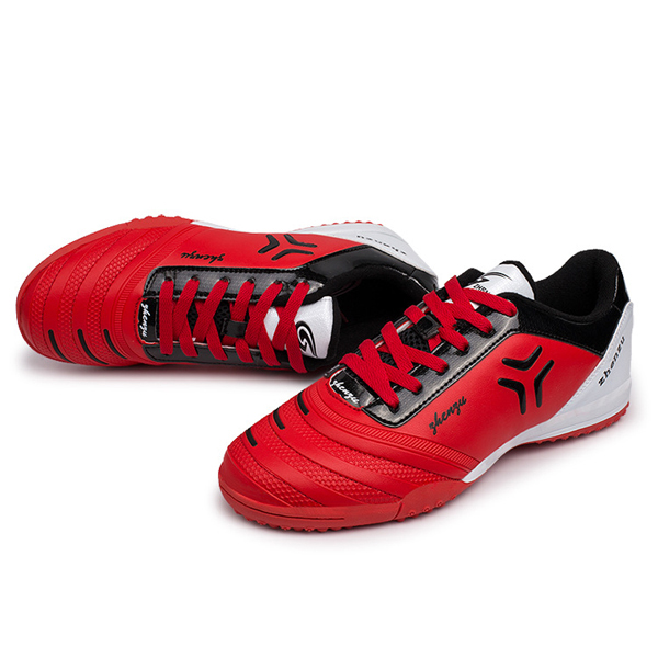 Lace Up Breathable Absorption Studs Football Soccer Shoes