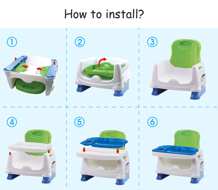 Portable Baby Dinner Lunch Chair Kid Safety High Chairs Feeding Supplies