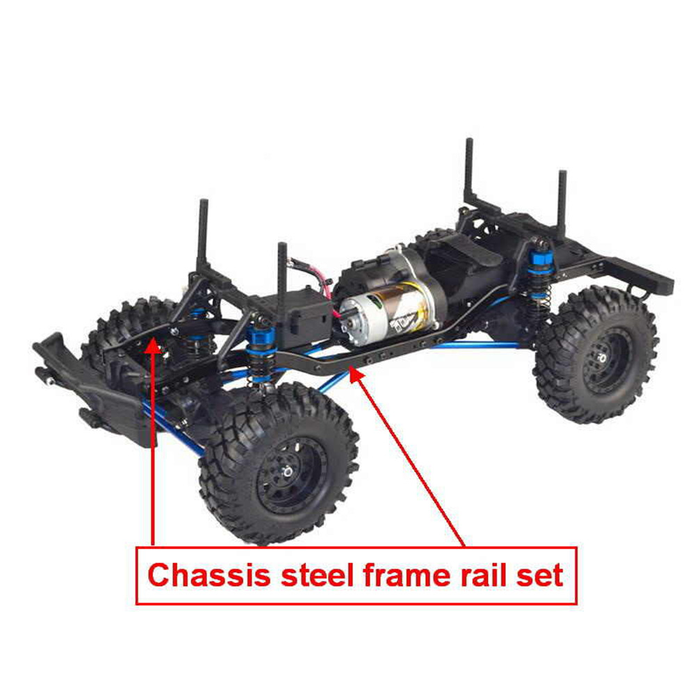 VRX Racing RH1048-MC28 1/10 2.4G 4WD Rc Car Electric Brushed Crawler w/ Front LED Light RTR Toys