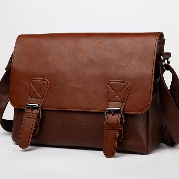 Men Vintage Messenger Bag Crossbody Shoulder Bag
