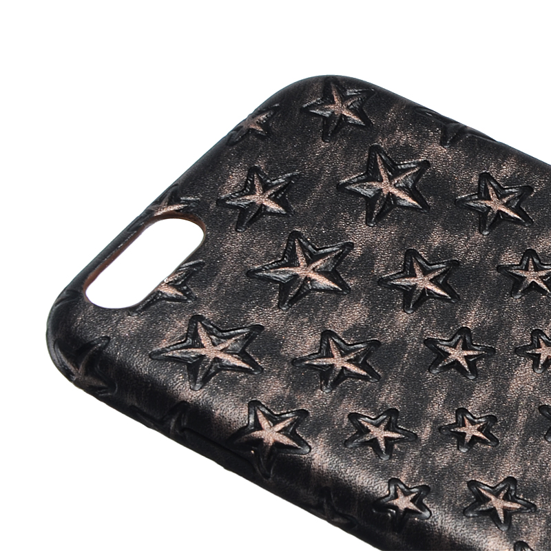 Super Slim Stars Pattern Soft PU Leather Case Vintage Skin Case Cover For iPhone 6/6s Plus 5.5 Inch