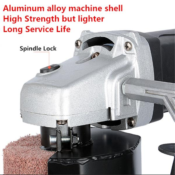 220V 1400W Burnishing Machine 50/60HZ Burnishing Polishing Machine Polisher with Wheel