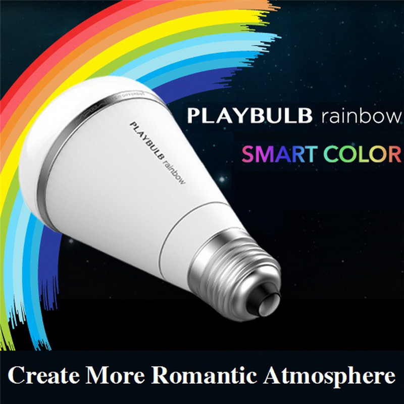 Mipow E27 5W RGB Color Changing bluetooth Intelligent Smart LED Light Bulb 110-240V