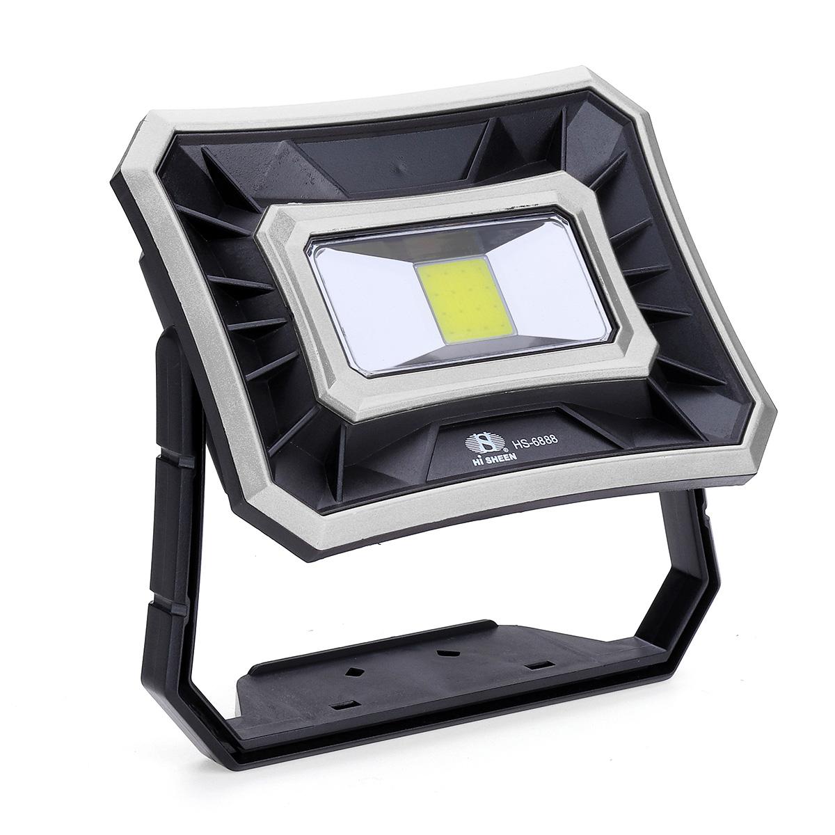 IPRee® 50W LED солнечный COB USB Work Light IP65 Водонепроницаемы Прожектор Прожектор На открытом воздухе Кемпинг Аварийный фонарь