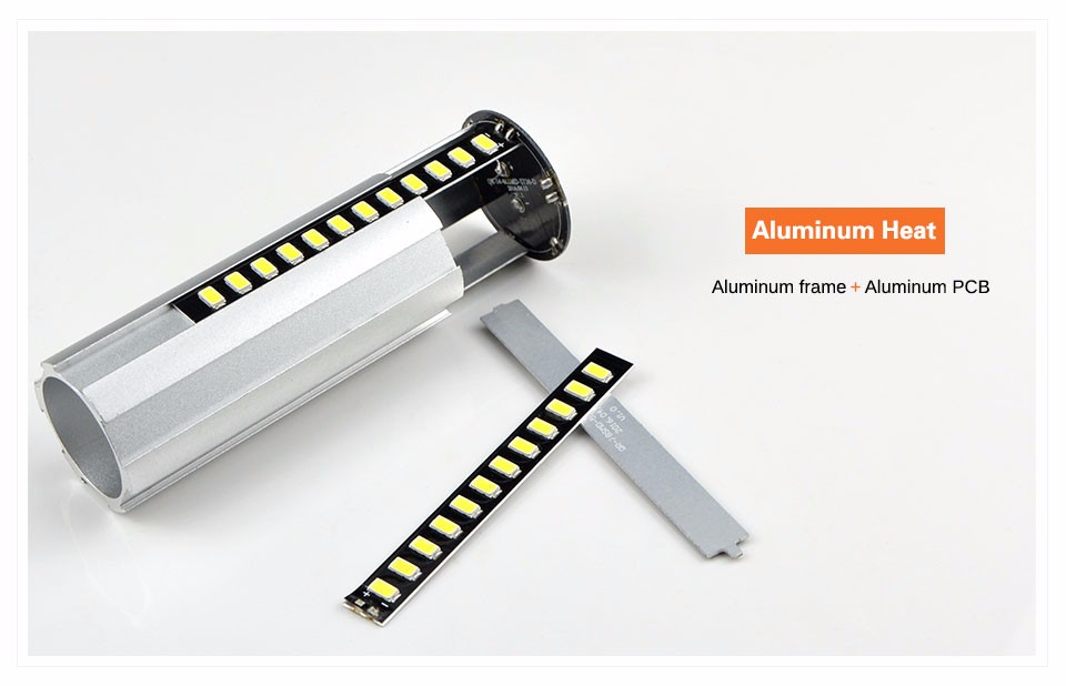 ARILUX® HL-CB 01 E27 E14 5W 7W 9W 12W 15W 20W 25W 5736 SMD Aluminum No Flicker LED Corn Bulb Light