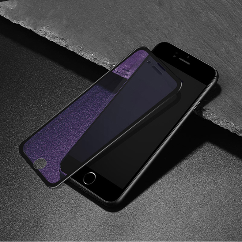 Bakeey Anti-blue Light & HD 3D Soft Arc Edge Tempered Glass Film for iPhone 7/8