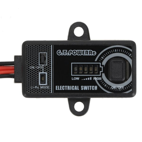 G.T.Power Electronic Switch 7A/14A For RC Airplane Helicopter Car