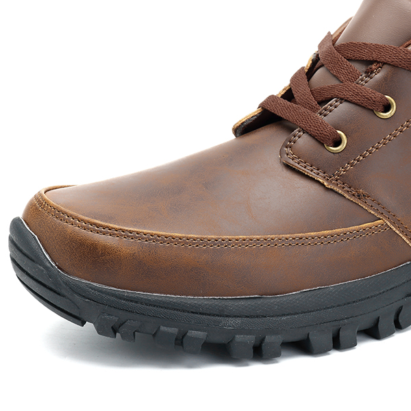 Men Casual Business Comfy Soft Ankle Oxfords