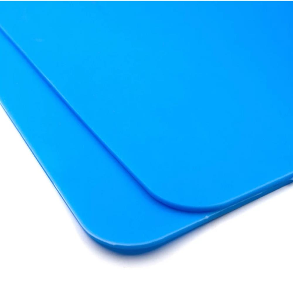 STARTRC Heat Resistant Silicone Rubber Repair Tool Mat Blue - Photo: 8