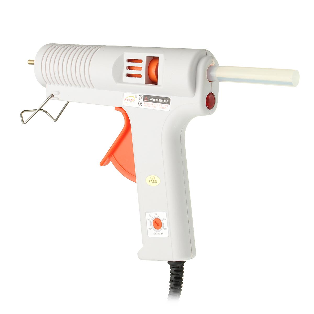 150W Glue Electric Heating Craft Hot Melt Glue Gun Scrapbook Tool with 10 Glue Sticks