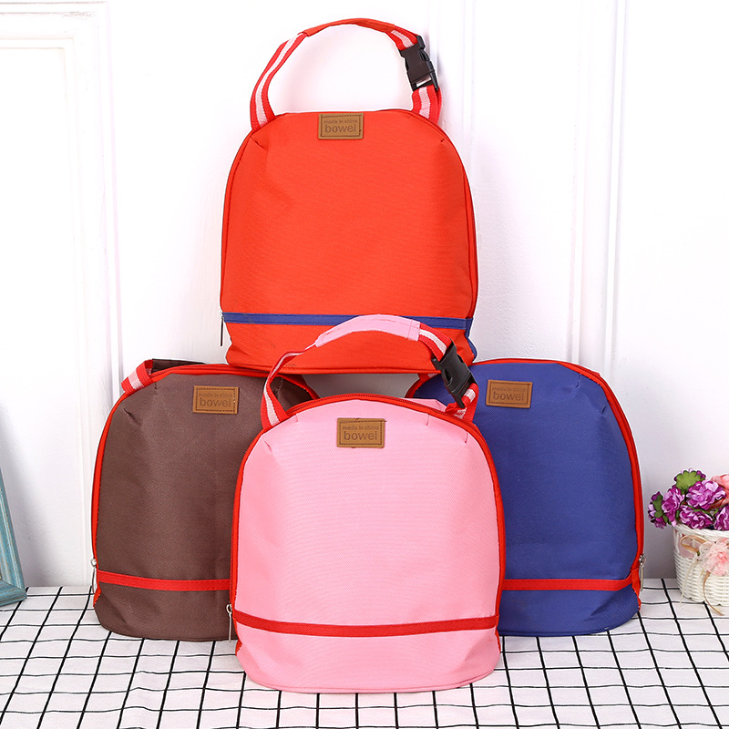 Thicked Lunch Tote Bag Keep Fresh Cooler Bag Handheld Belt Food Picnic Bento Bags Travel Bags