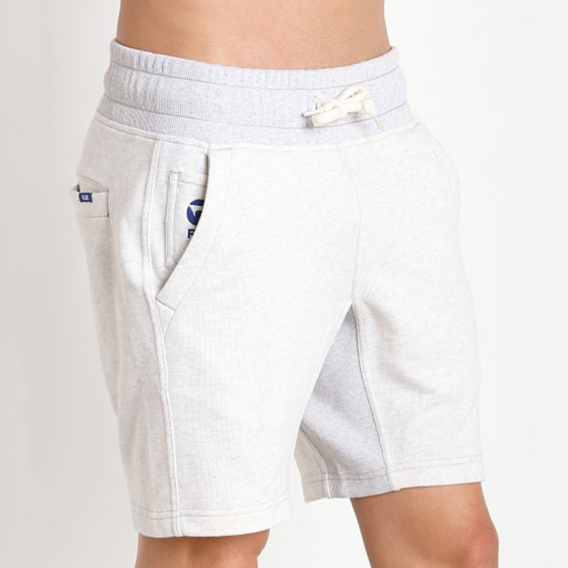 Mens Sport Home Knee Length Cotton Pajamas Drawstring Shorts