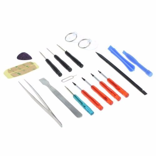 18Pcs Opening Tools Repair Kit For Smartphone Tablet MacBook Pro Air iPhone