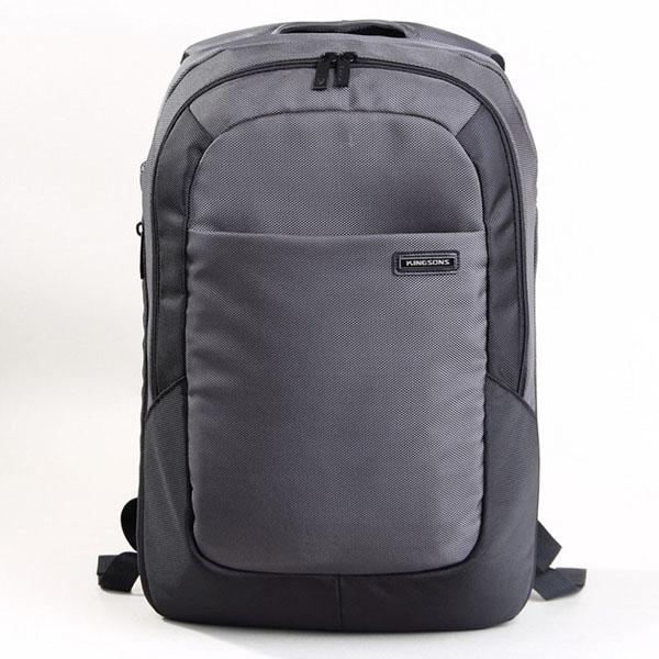 KINGSONS Men 15.6-inch Laptop Backpack Business Casual Daypack Schoolbag