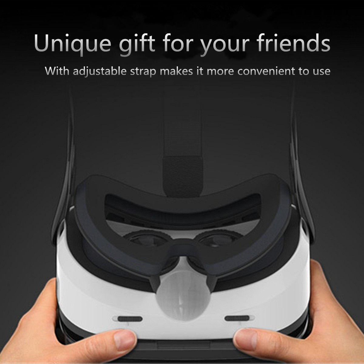 Virtual Reality VR Box 3D Headset Video Movie Game Glasses Helmet For iphone X 8/8Plus Samsung S8 Xi