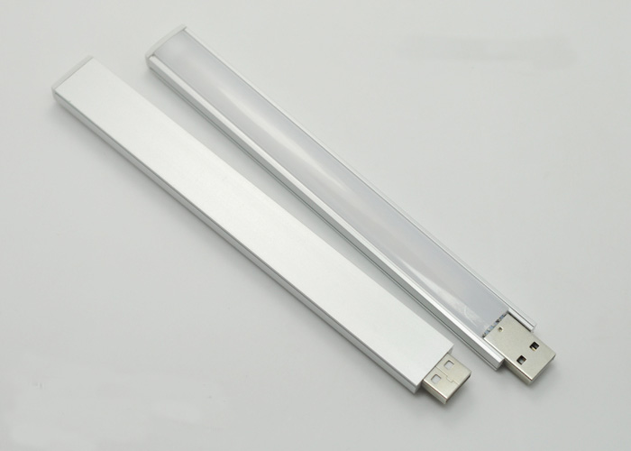 20CM 4.5W SMD 5730 LED Rigid Strip Warm White Light With Touch Switch USB 21 LEDs Light PC Computer