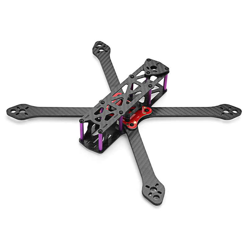 Realacc Martian-7 7 Inch 300mm Wheelbase Carbon Fiber 4mm Arm FPV Racing Frame Kit w/ PDB 159g