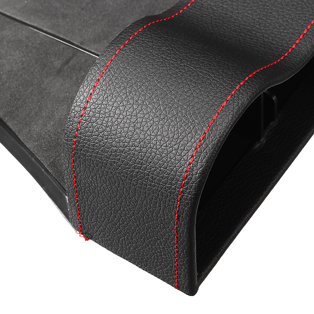 PU Leather Right Side Car Seat Crevice Gap Storage Box Pocket Organizer Phone Holder