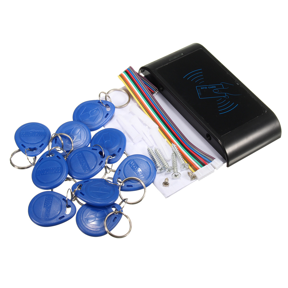 RFID Security Entry Door Reader Card Keypad Mini ID Access Machine Controller
