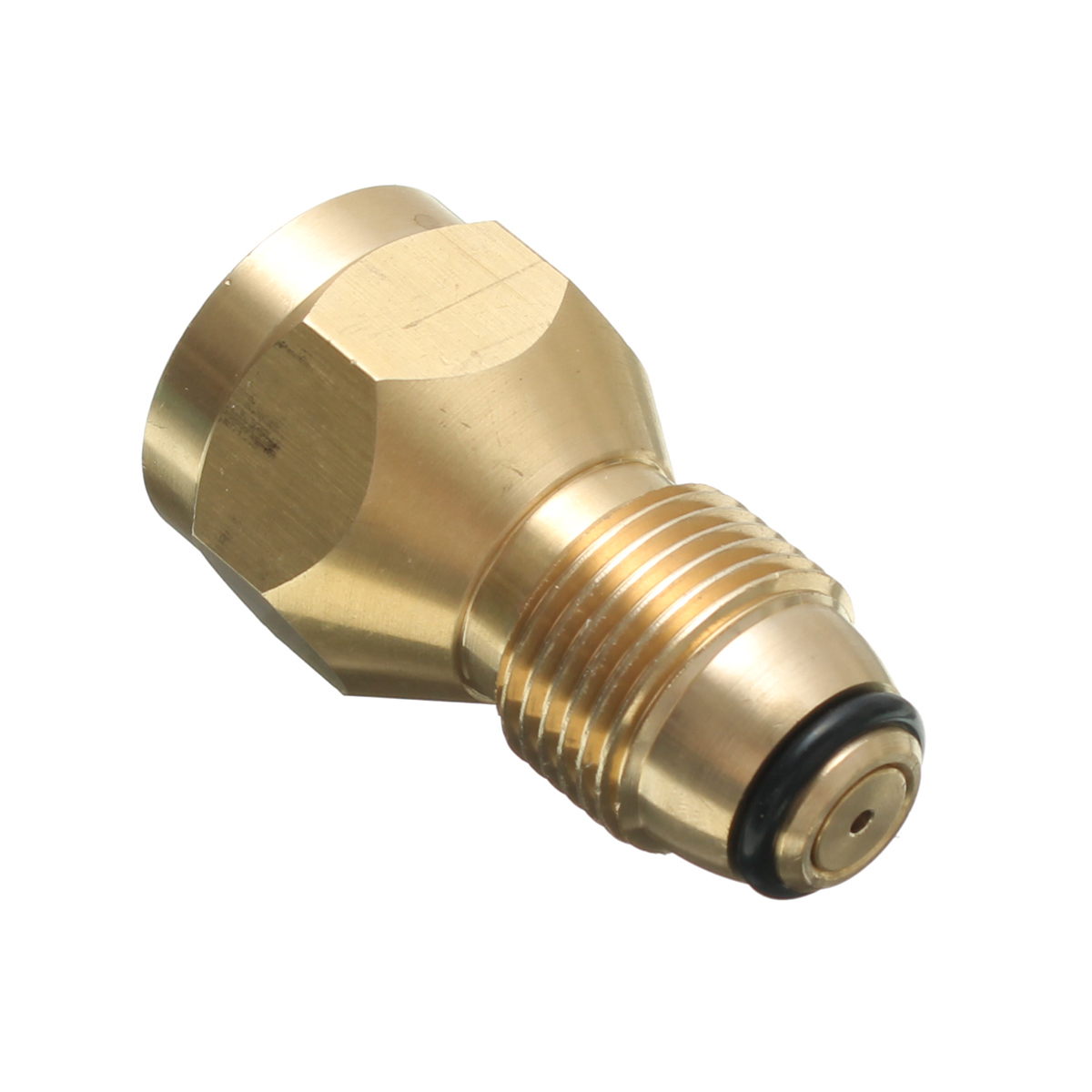 60mm Brass Propane LP Gas Cylinder Fitting Connector Adapter