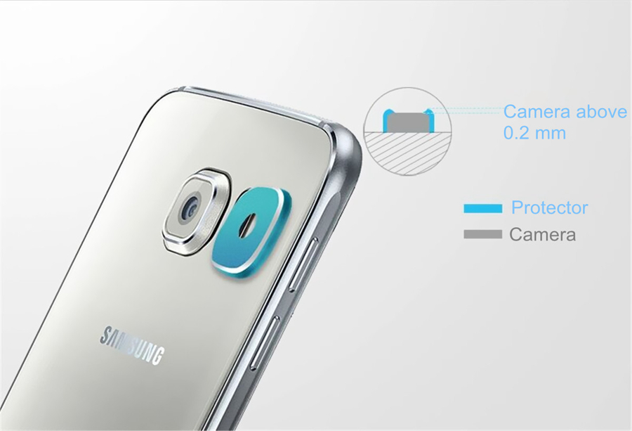 Rear Camera Len Protector Case Cover Ring for Samsung Galaxy S6/S6 Edge Plus