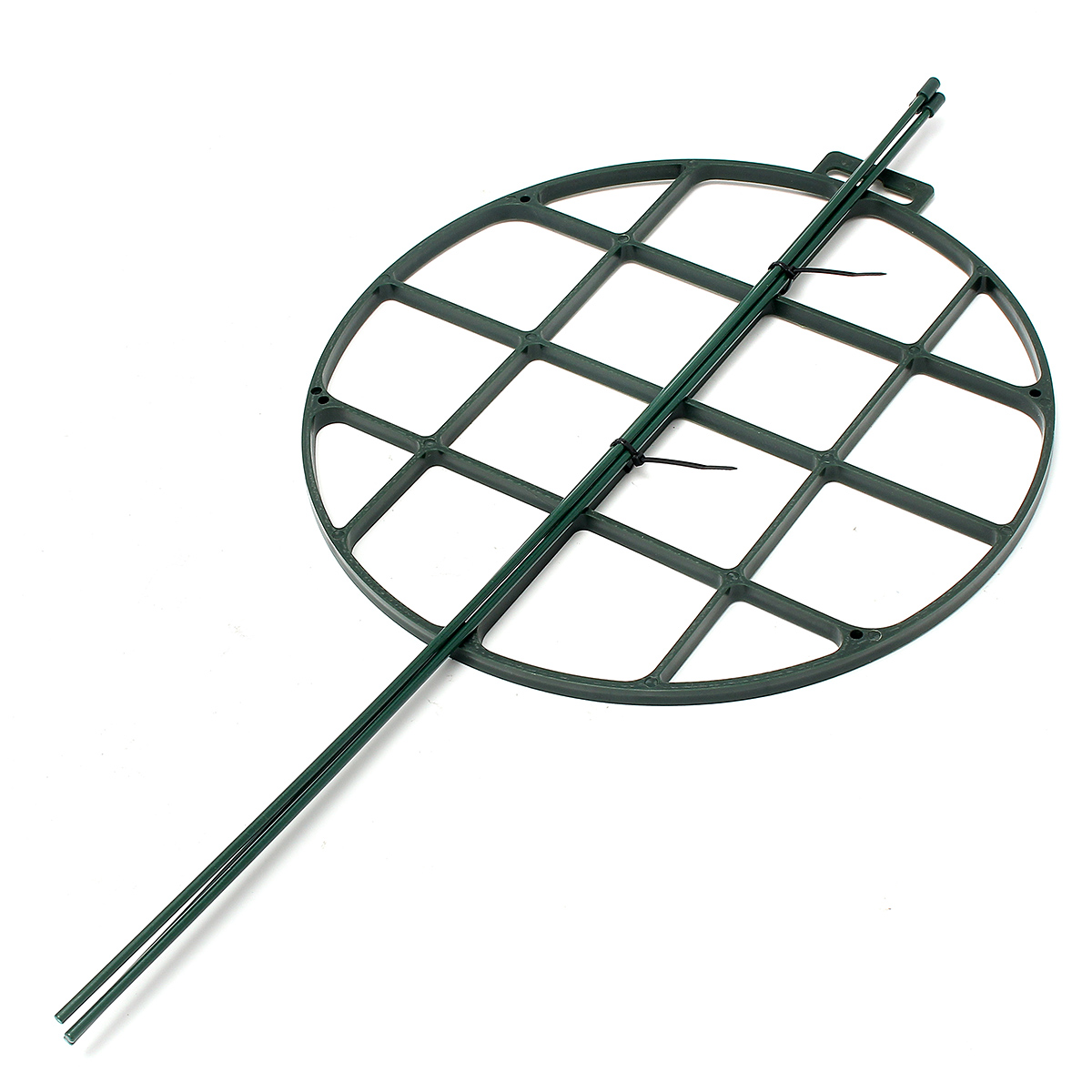 Plastic Round Grow Through Climbing Plant Supports Shock Plate Stand For Peonies Lupin