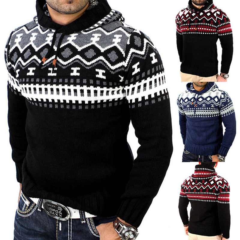 Mens Printing Sweaters Hoodies