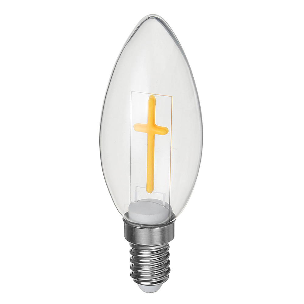 E27 E14 2W 4W A60 T45 ST64 Candle Pull Tail Warm White Cross Incandescent Light Bulb AC180-265V