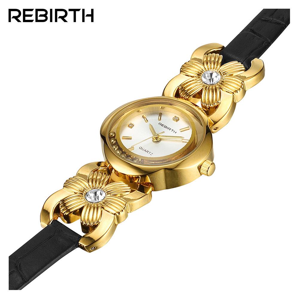 REBIRTH RE011 Full Steel Casual Style Women Quartz Watch