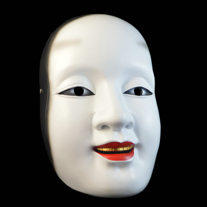 KALOAD JP01 Halloween Resin Mask Bar Dance Horror Scary Soul Props Demon Devil