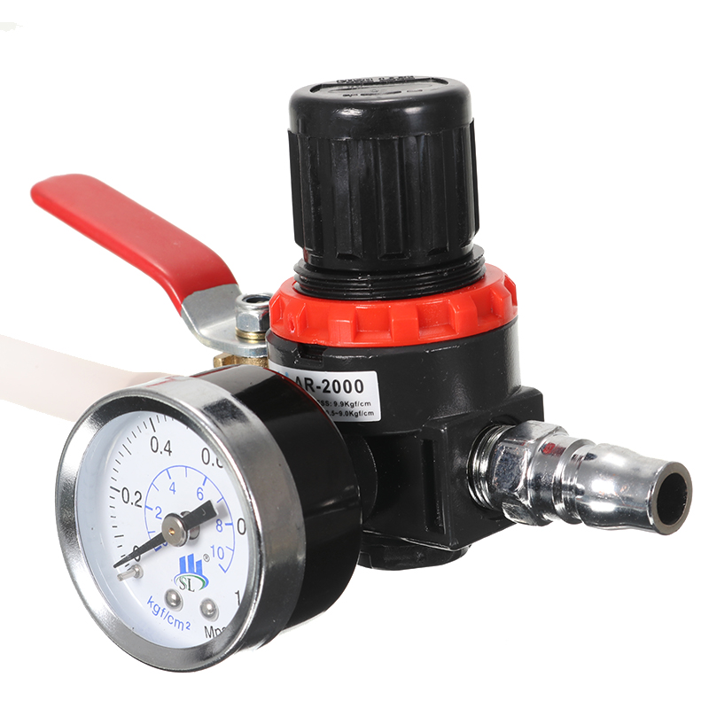 Car Radiator Cooling System Leakage Water Tank Pressure Detector Leaking Tester Tool With Pipe Adapt