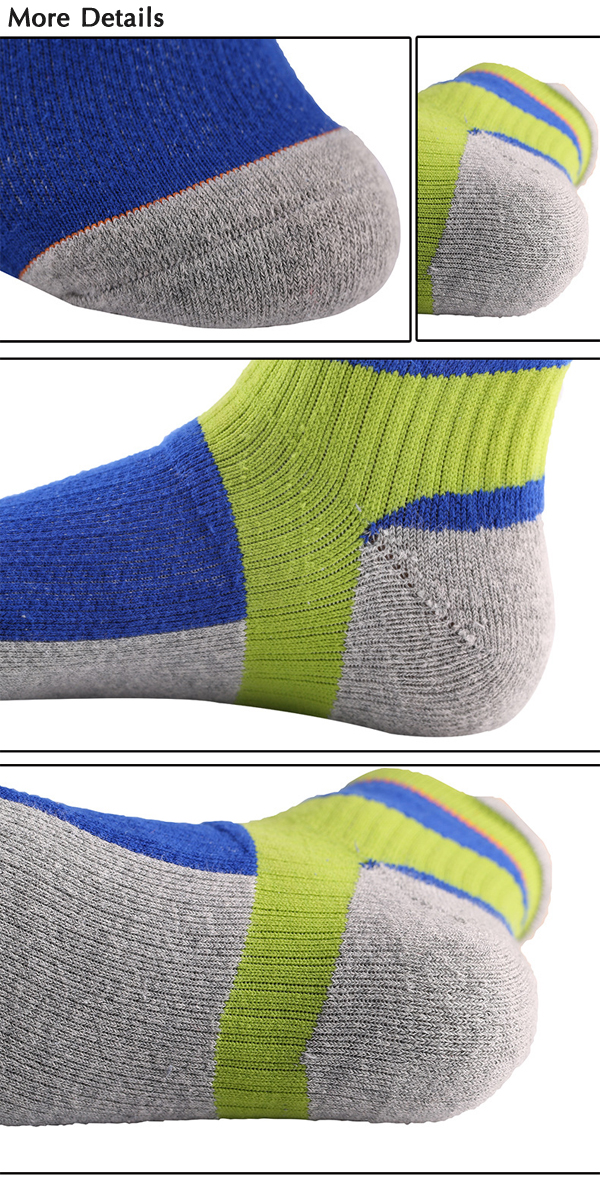 Mens Outdoor Thick Winter Professional Basketball Cycling Sock Panel Sport Towel Socks