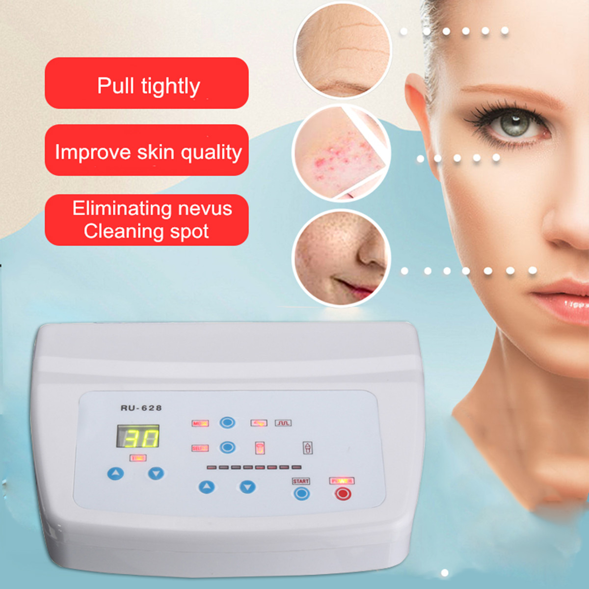 Anti Aging Beauty Facial & Body Therapy Machine
