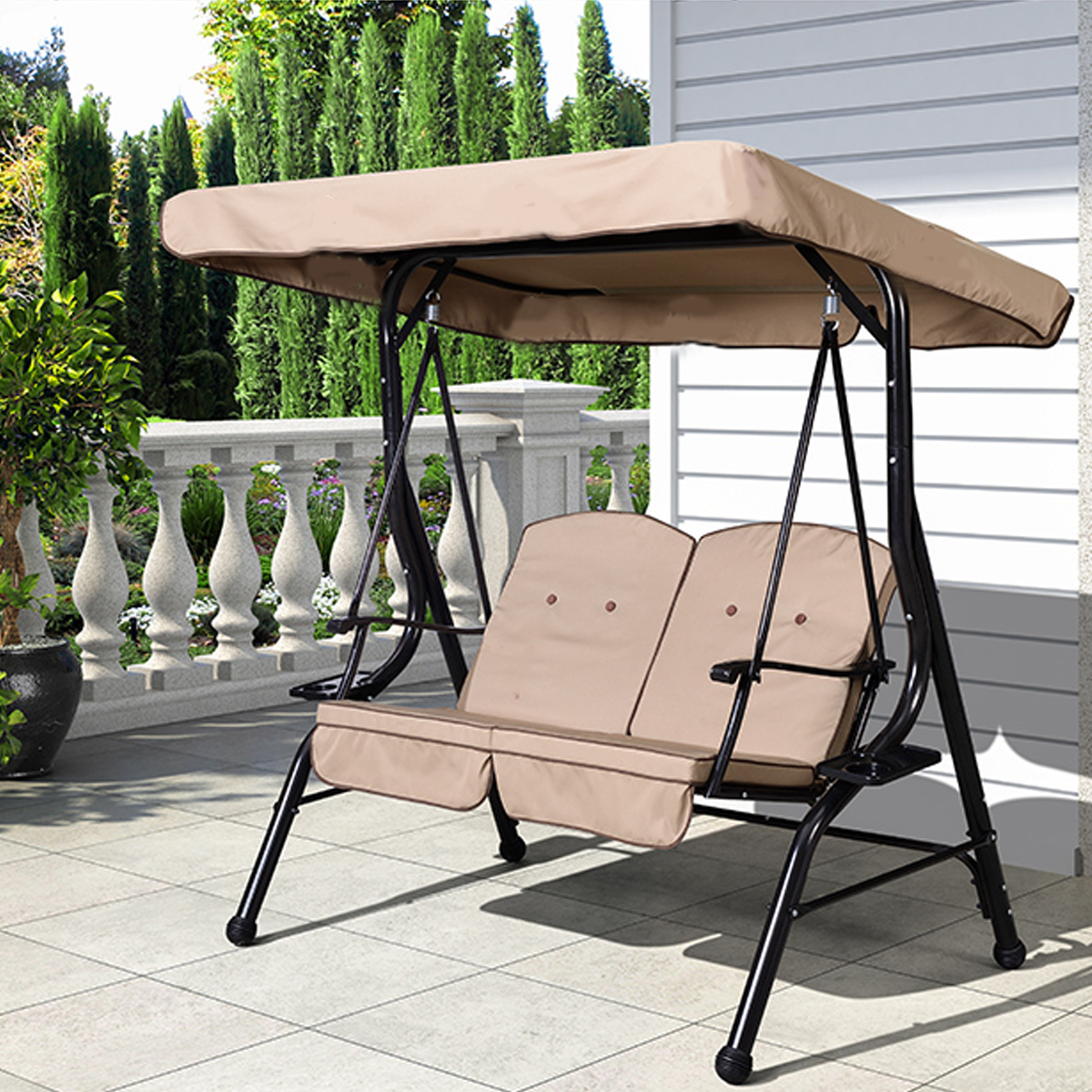 Tents Outdoor 3 Seater Garden Swing Chair Replacement