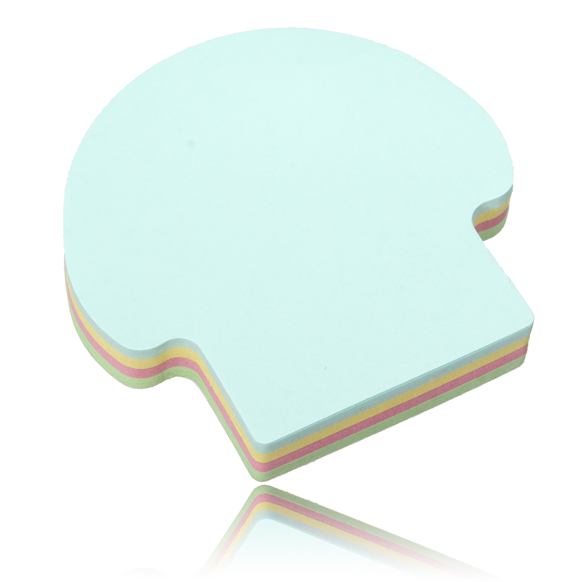 1 Pcs Sticky Note Color Post Note Paper Sticker Cute Candy Color Sticky Notes Stationery Papers Bookmark Office School Supplies