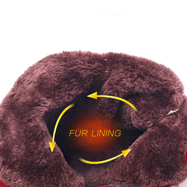 Keep Warm Winter Casual Fur Lining Down Ankle Snow Boots