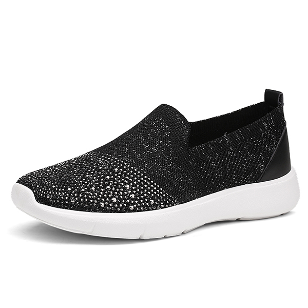 Women Knitting Breathable Sport Shoes