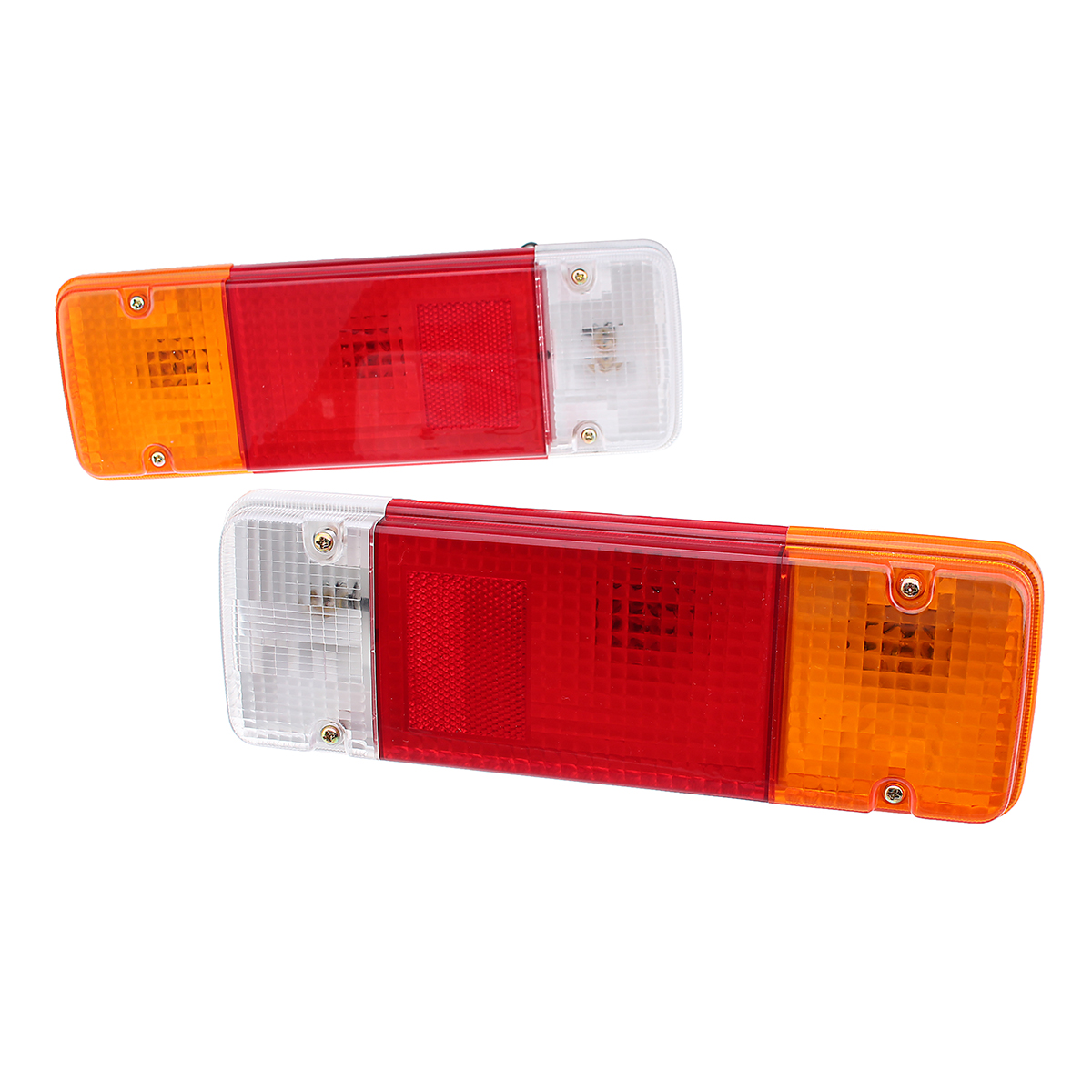 2Pcs 12V Car Tail Light Brake Lamps for Toyota Land Cruiser 70 75 78 79 Series Pickup 84-18