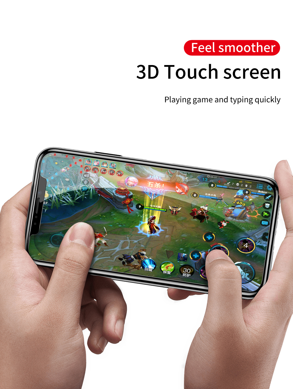Baseus 0.3mm Anti-peeping Full Glass Tempered Glass Screen Protector For iPhone XR