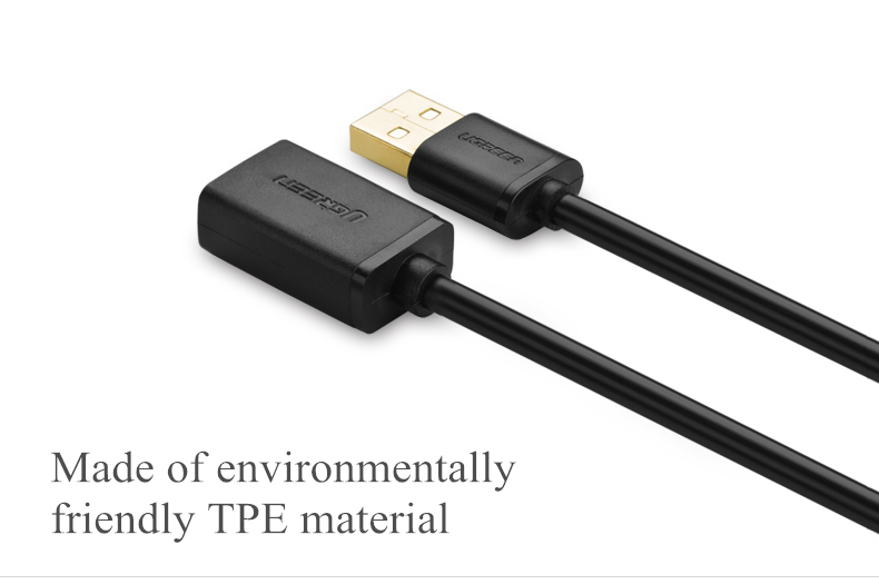 Original UGREEN USB2.0 USB Male to Female 1m 1.5m 2m 3m Extended Cable