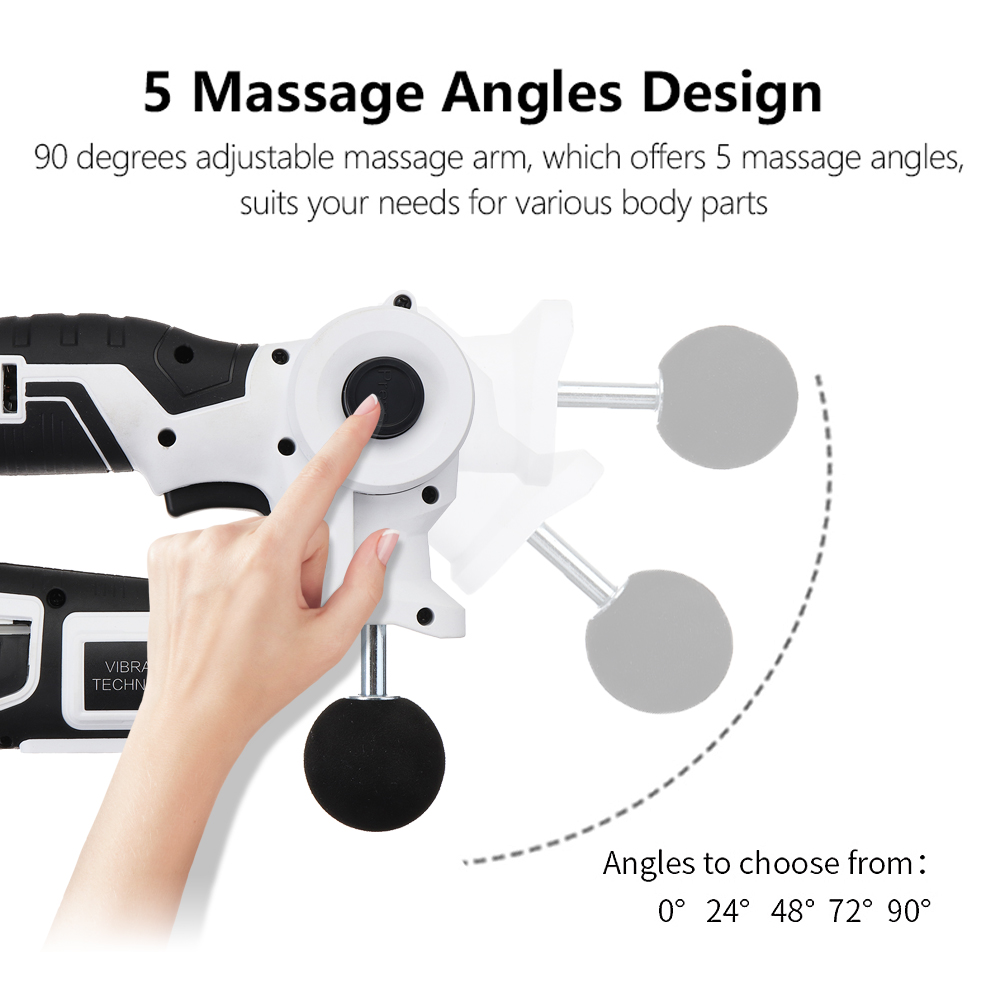 2000mAh 10 in 1 Pro Muscle Relaxing Electric Massager