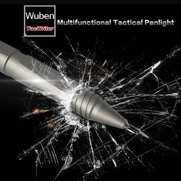 WUBEN TP10 XP-G2 USB Rechargeable Tactical Mini LED Pen Light Flashlight 10080